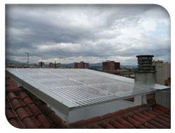 Instalaciones de cubiertas y tejados - Cubiertas metalicas ligeras ...