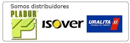 distribuidores en terrasa y barcelona de pladur, isover, uralita